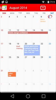 Calendar + Free-1