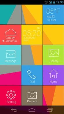 Cube GO Launcher Live Theme-1