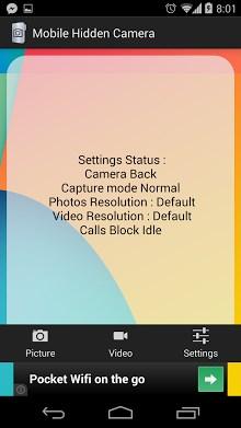Mobile Hidden Camera-1