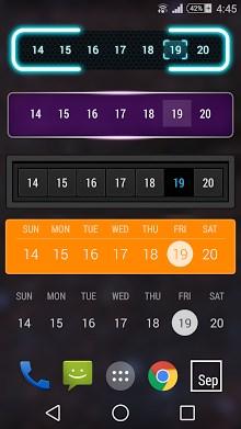 Month - Calendar Widget-1