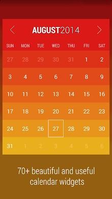 Month - Calendar Widget-2