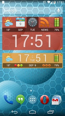 Weather and News Info Widget-1