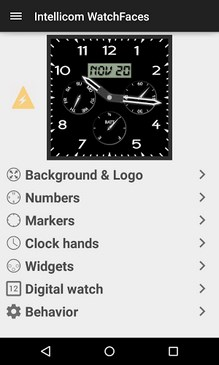 Android Wear WatchFaces-1