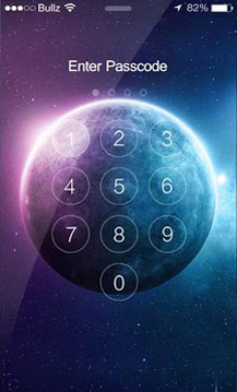 Galaxy Lock Screen Live Wallpaper 2