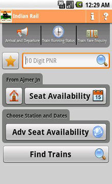 Download Indian Rail Info App | APK Download for Android