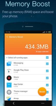 UClean-Phone的清洁器主 -  1