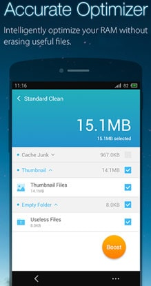 UClean-Phone的清洁器主 -  2