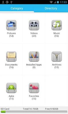 File Manager - Borqs-1