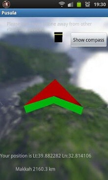 Qibla and Compass 3D-1