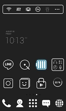 Super simple Black Dodol Theme-1