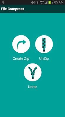 Zip - Unzip - UnRAR-1