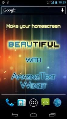 AmazingText FREE - Text Widget-1