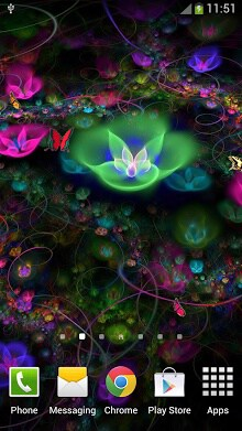 Fantasy Flowers Live Wallpaper-1