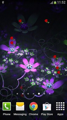Fantasy Flowers Live Wallpaper-2