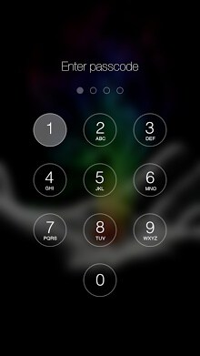 Retina Keypad Lockscreen-2
