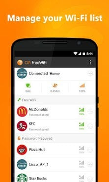 CM Free WiFi APK for android | APK Download for Android