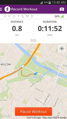 Walk With Map My Walk APK Download For Android - Map my data