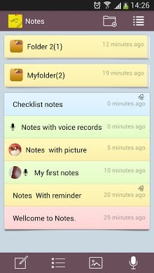 Notes - NotePad and Lists-1