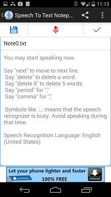 Speech To Text Notepad-2