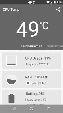 CPU 온도 -1
