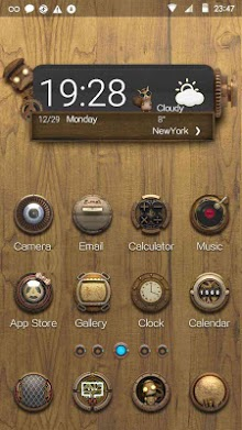 Steam Punk Hola Launcher Theme-1