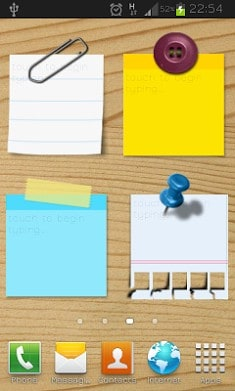 Sticky Notes Widget Free-1