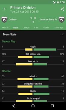 Le Football Livescore App-1