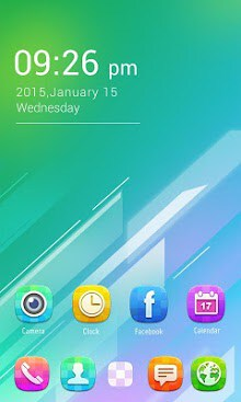 Color GO Launcher Theme-1