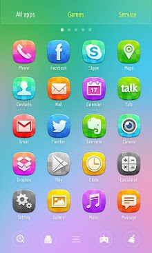 Color GO Launcher Theme-2