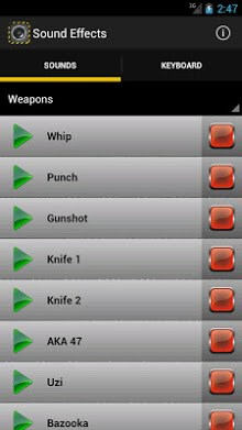 Sound Effects Application | APK Download for Android