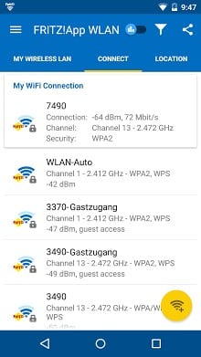 FRITZ App WLAN Lab-2