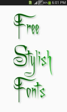 Stylish Fonts APK Download For Android