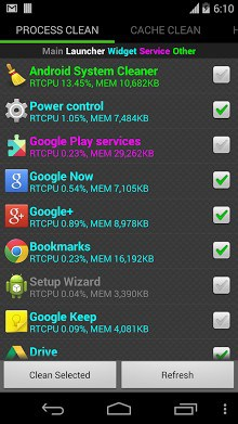 System Cleaner para Android-1