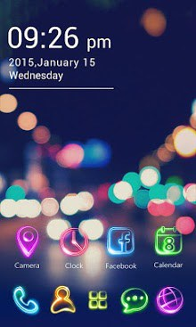 Tonight GO Launcher Theme-1