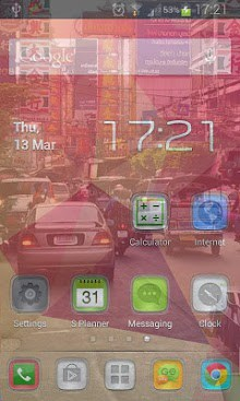Transparent Phone Screen HD-1