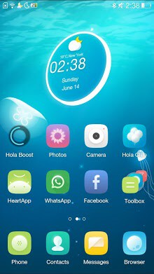 Jellyfish Hola 3D Theme-1