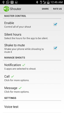 Voice Notification - Shouter-2