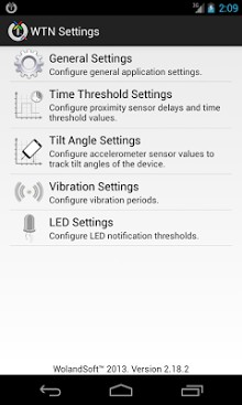 Wakeup Touch Nexus-2