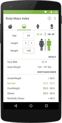 BMI Calculator - Healthy Weight-2
