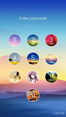 Folding Keypad Lock Screen-2