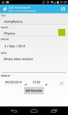 Homework Planner-2