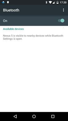 Bluetooth settings shortcut-1
