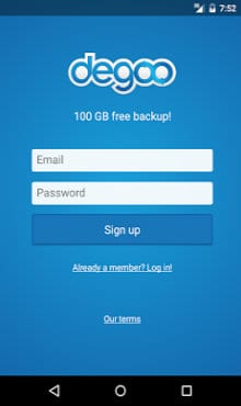 Degoo 100gb Free Cloud Backup Apk Download For Android