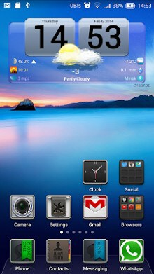 FineWeather Widget and Clock-1