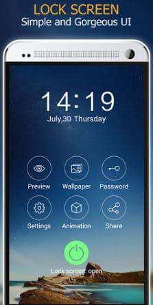 Keypad Lock - Phone Secure-2