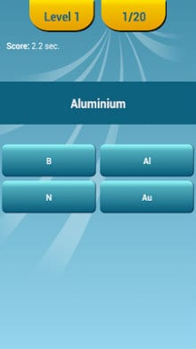 Periodic table quiz apk download for android periodic table quiz 1 periodic table quiz 2 urtaz Gallery