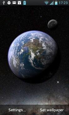 Earth & Moon in HD Gyro 3D-1