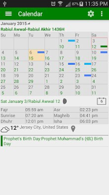 Islamic Prayer Time & Calendar-1