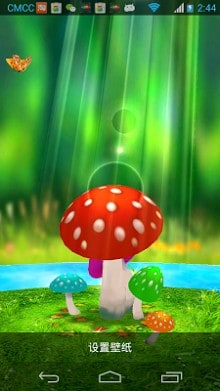 Mushrooms 3d Live Wallpaper Apk Download For Android