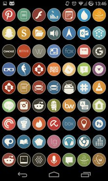 Simple Rounds Lite - Icon Pack-2